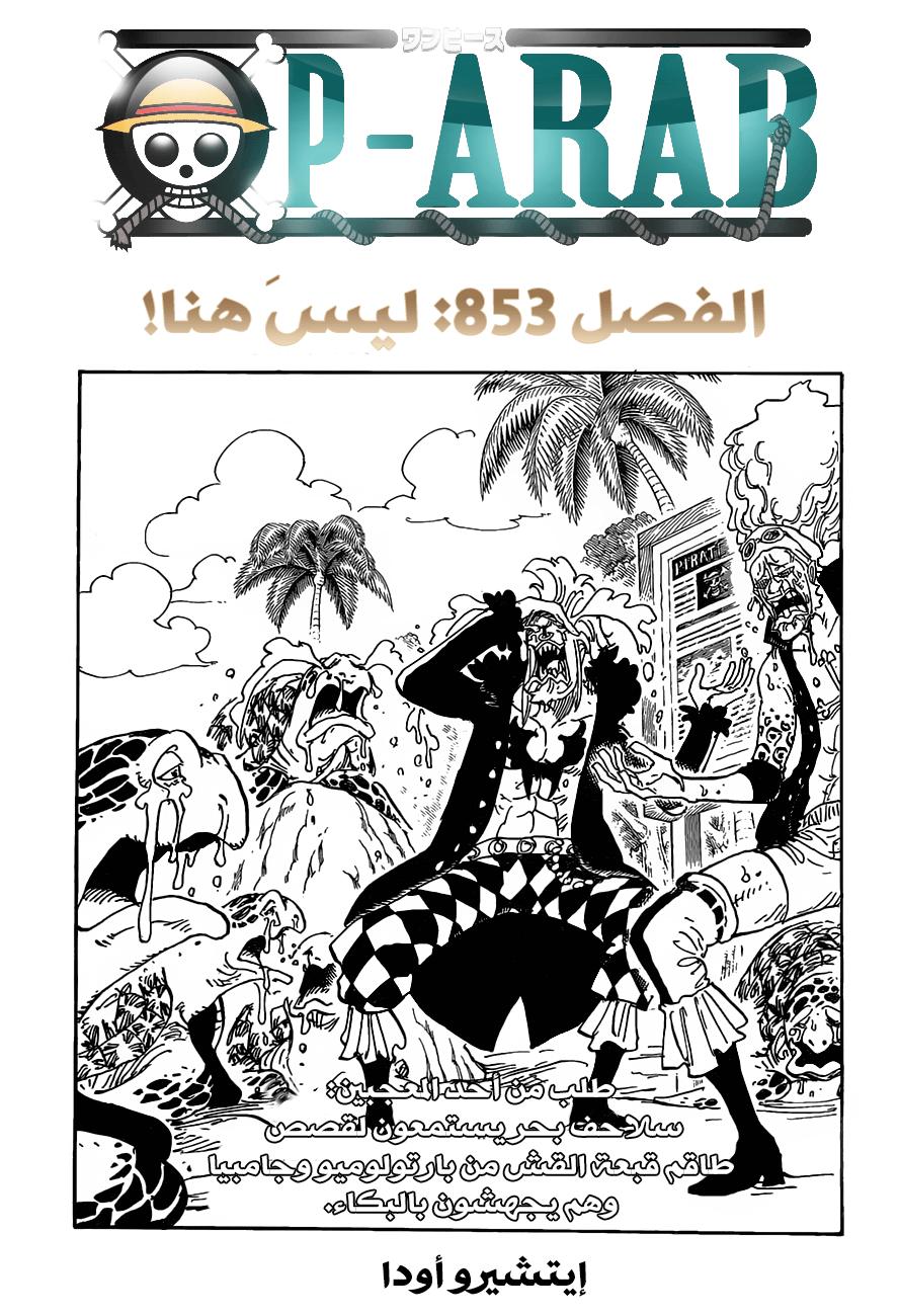 ون بيس 853, One Piece 853