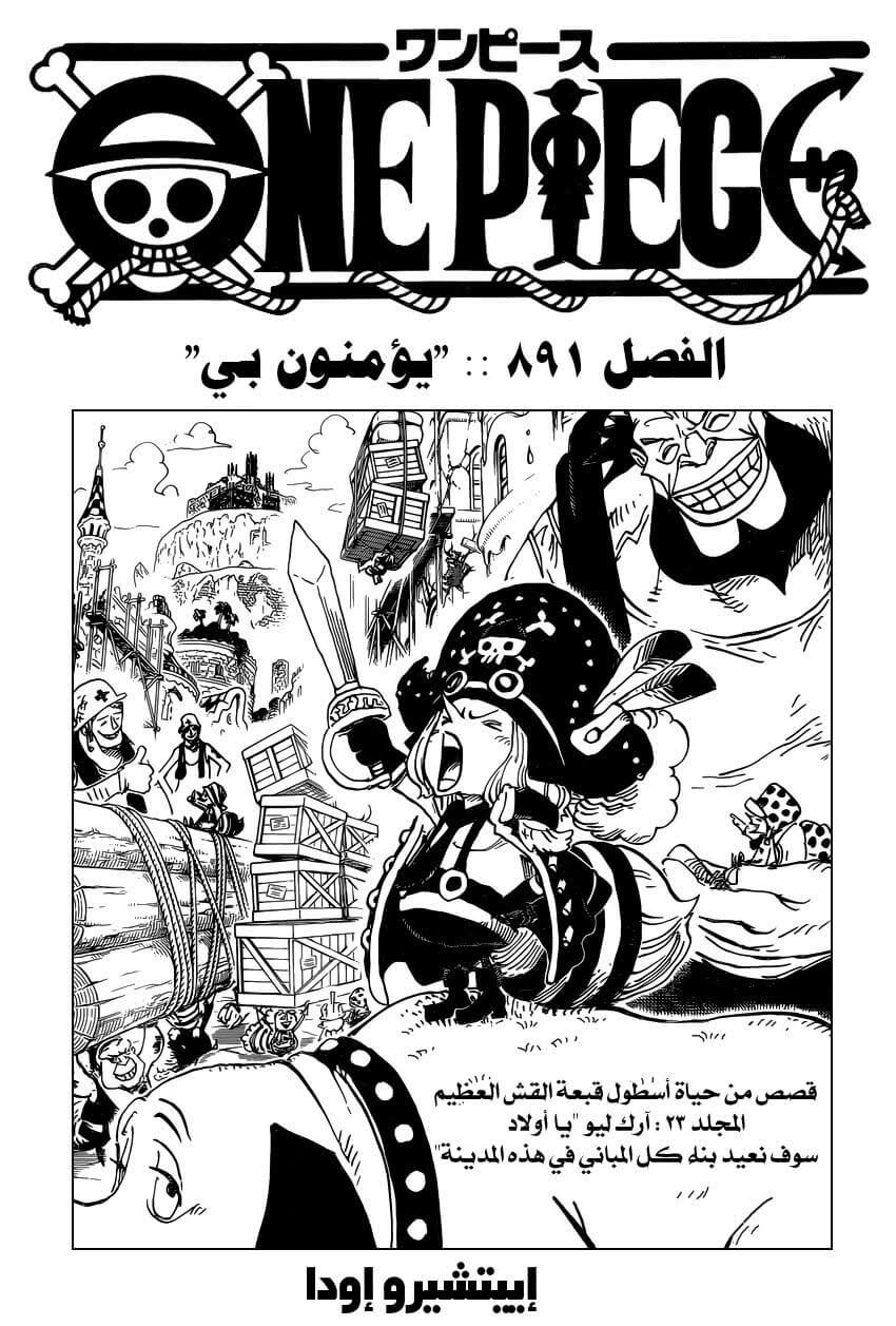 ون بيس 891, One Piece 891