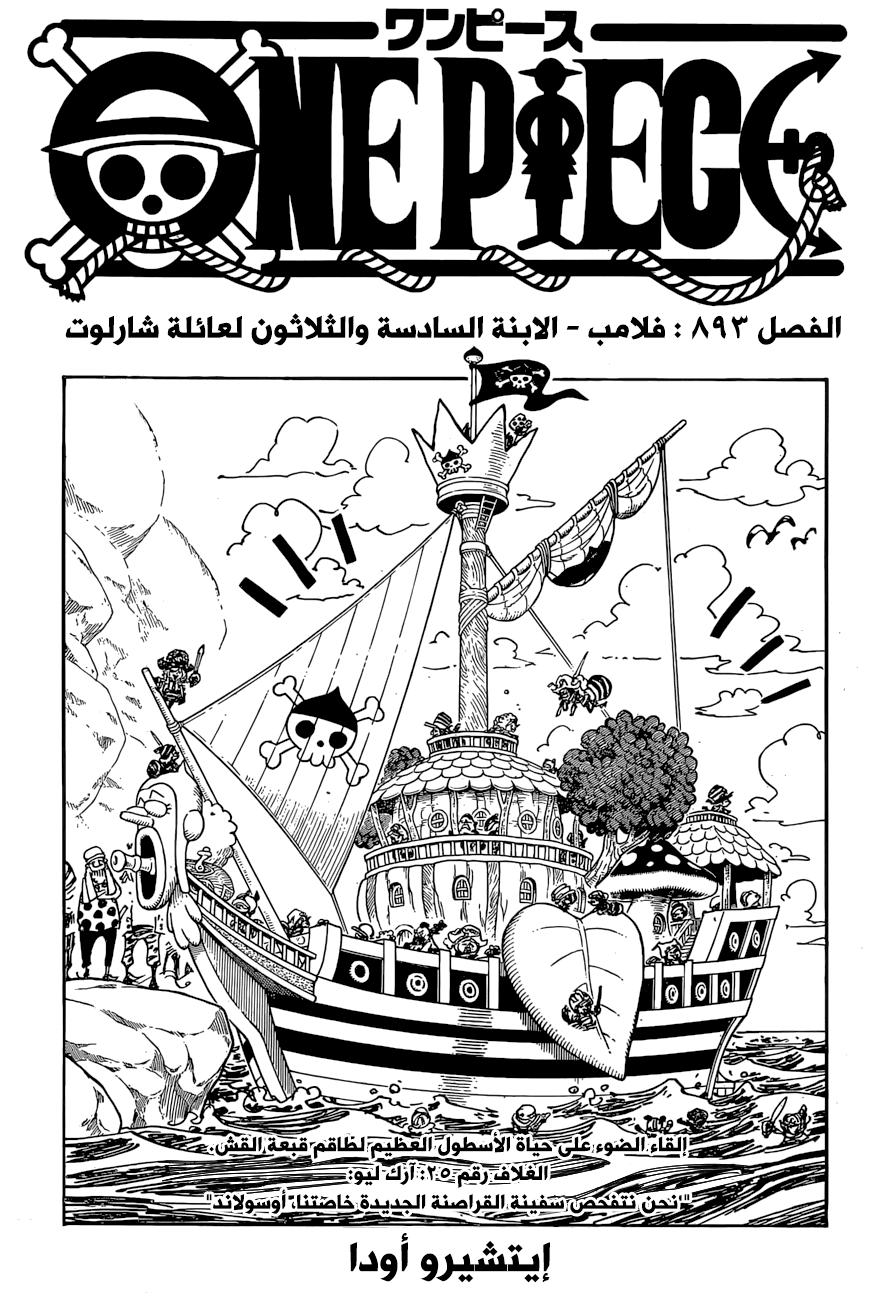 ون بيس 893, One Piece 893