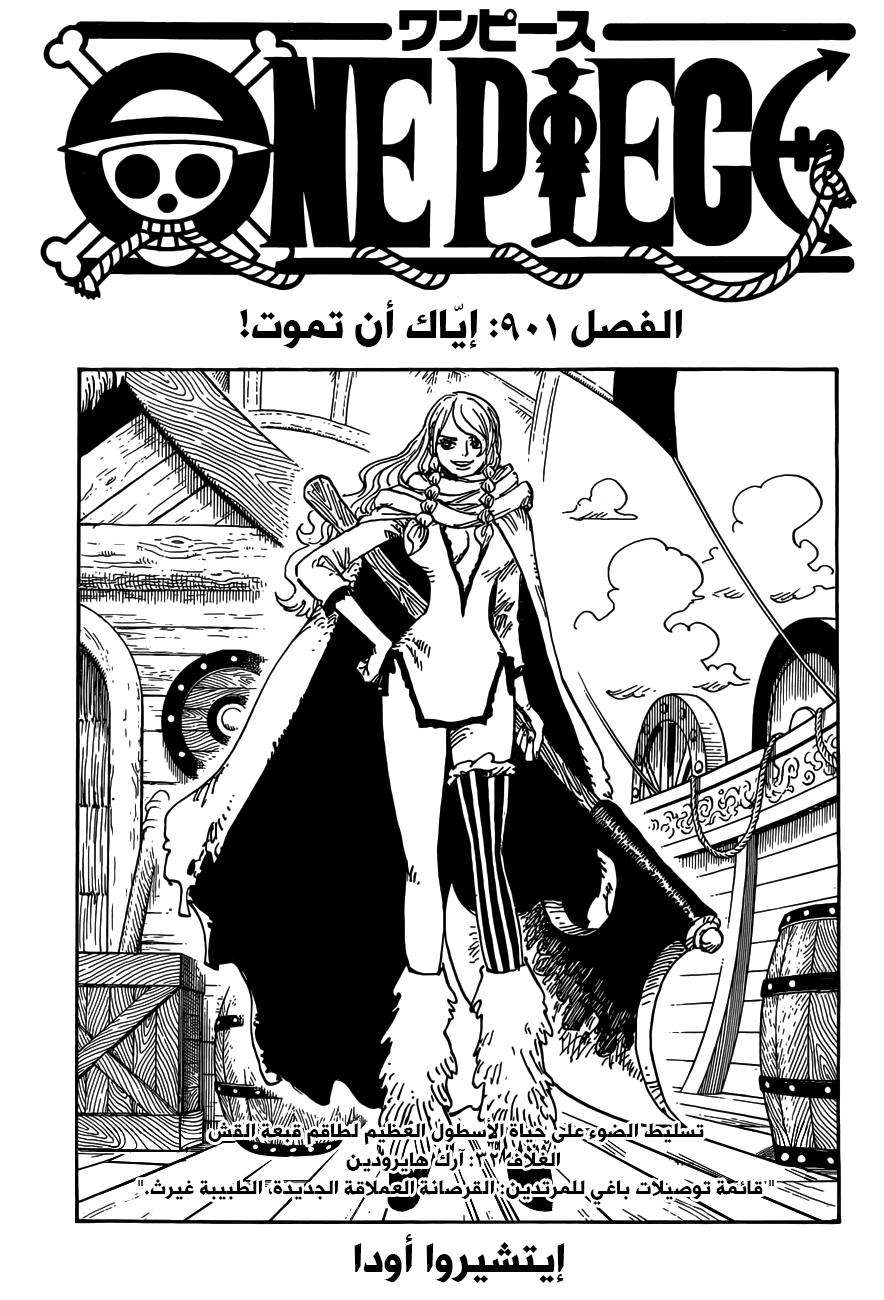 ون بيس 901, One Piece 901
