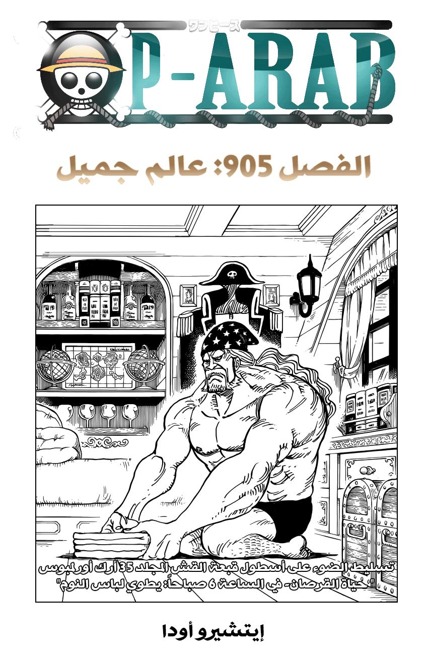 ون بيس 905, One Piece 905